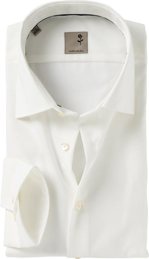 Tailored Fit Overhemd.Bol Com Seidensticker Overhemd Tailored Fit Off White 41 Maat 42