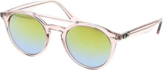 b6e93edb19376f Ray-Ban RB4279 6279A7 - zonnebril - Roze   Groen Gradiënt Spiegel - 51mm