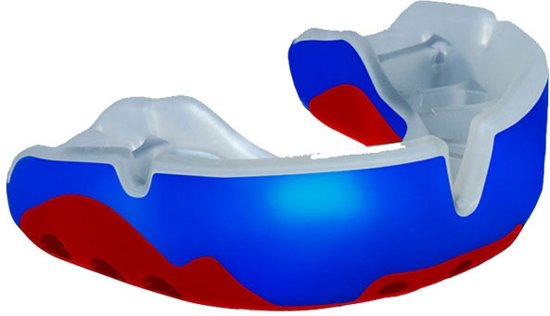 OPROshield Platinum Self-Fit Gebitsbeschermer - Blauw/Rood