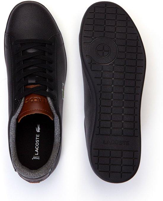 5 Zwart Mannen Sneaker SneakersMaat Heren 44 Lacoste Carnaby kX8nOP0Nw
