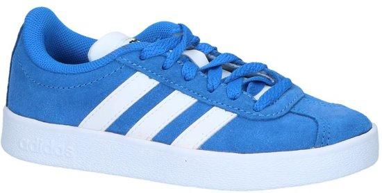 Blauwe Sneakers adidas VL Court 2.0 K
