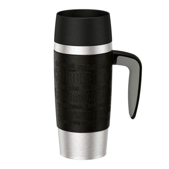 Bolcom Travel Mug Handle Isoleerbeker 036 L Zwart
