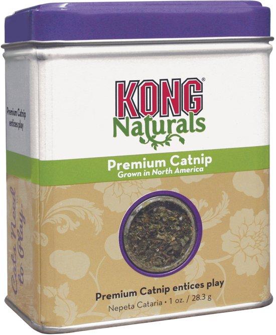 Kong Catnip Navulling 30 Gr - Kattenkruid - Groen