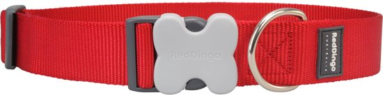 Red Dingo Halsband Extra Breed 40 mm 37-55cm DC-ZZ-RE-GS