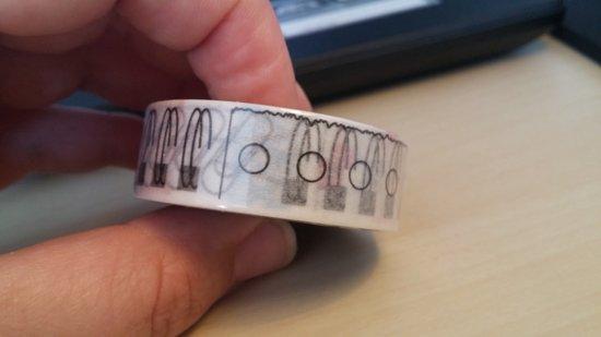 Washi Tape 10m Kantoorartikelen