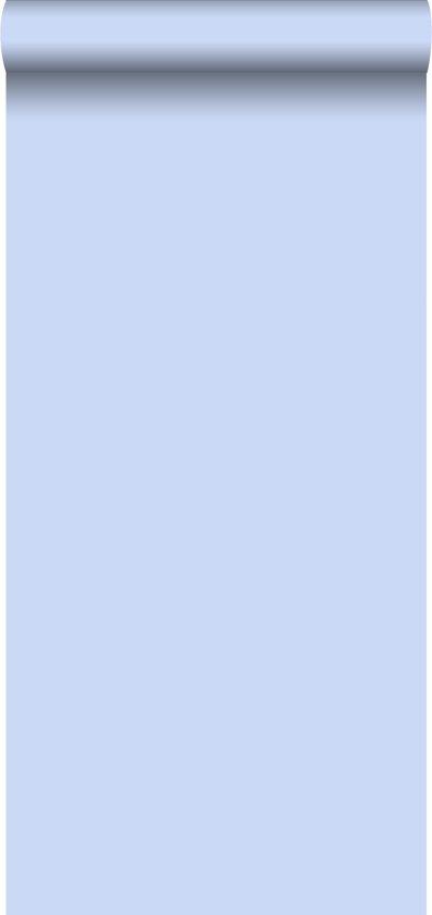 Baby Blauw Behang.Bol Com Behang Effen Blauw 115612 Van Estahome Nl