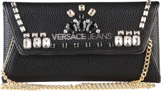 629514a2dab bol.com | Versace Jeans crossbody tas Zwart Dames