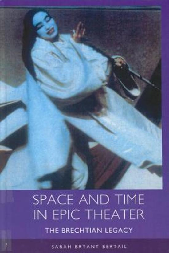 Space and Time in Epic Theater