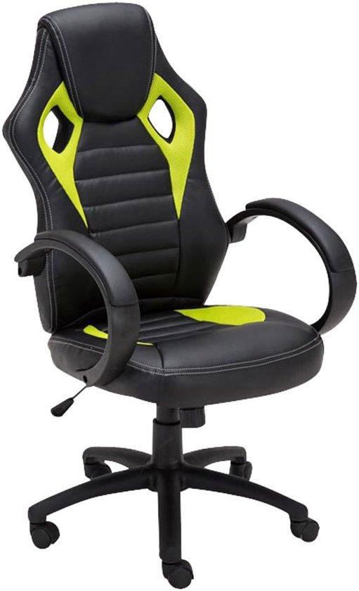 bol | clp racing bureaustoel speed sport seat racing - gaming
