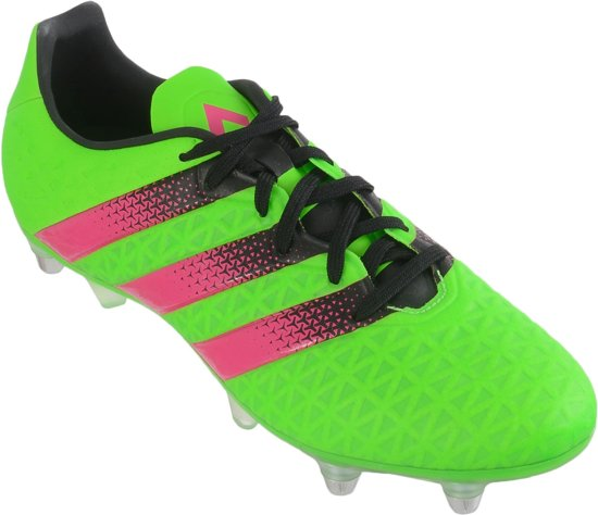 Adidas Ace Soccer 16,3 Hommes Sg Vert Taille 41 1/3