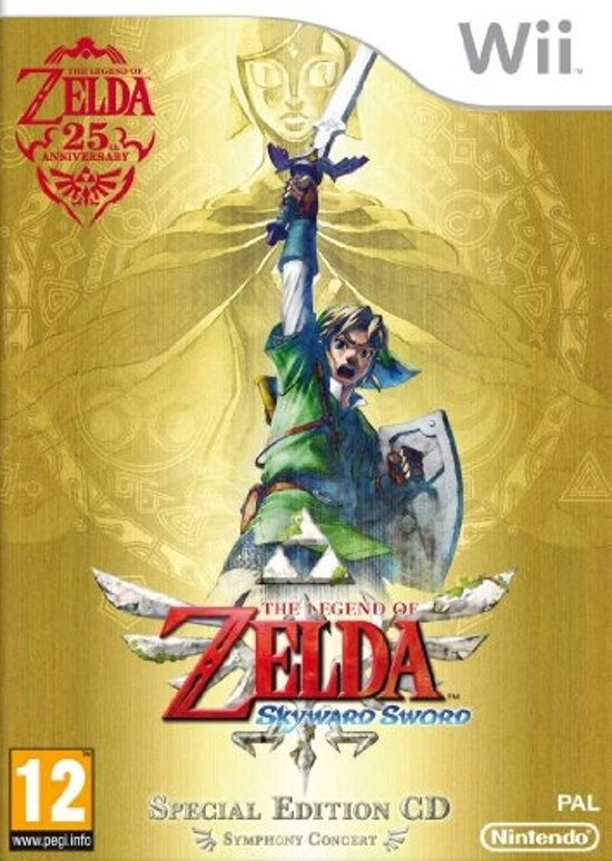 The Legend of Zelda: Skyward Sword + CD kopen