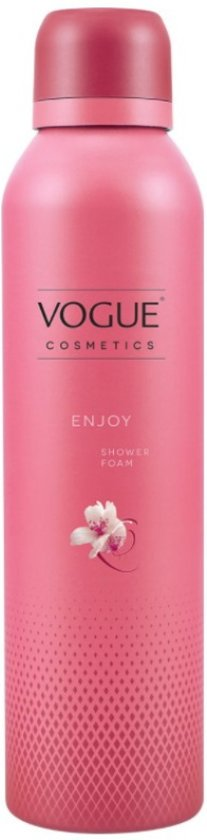 VOGUE Cosmetics Shower Foam Enjoy 200 ml