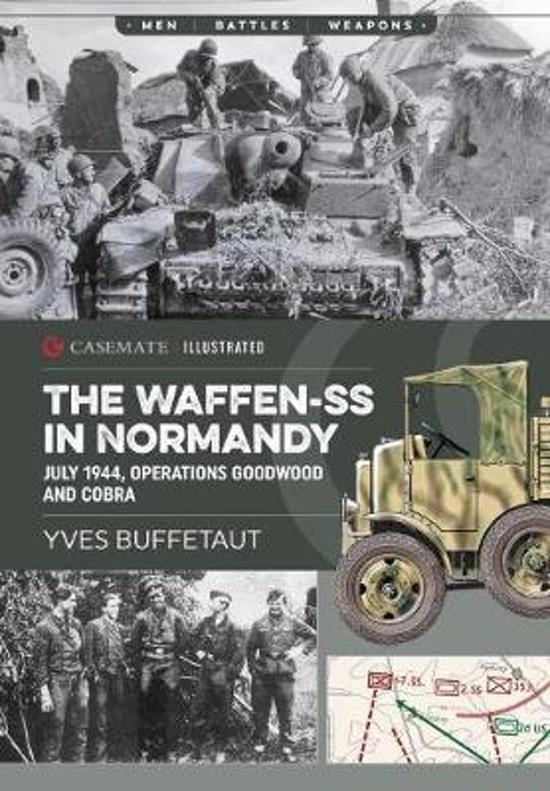 Boek cover The Waffen-Ss in Normandy van Yves Buffetaut (Paperback)