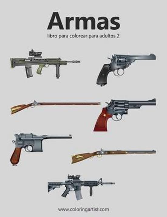 bol.com | Armas Libro Para Colorear Para Adultos 2, Nick Snels ...
