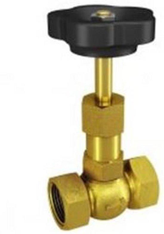 Naaldafsluiter PN100 - 25 - 1 - Messing