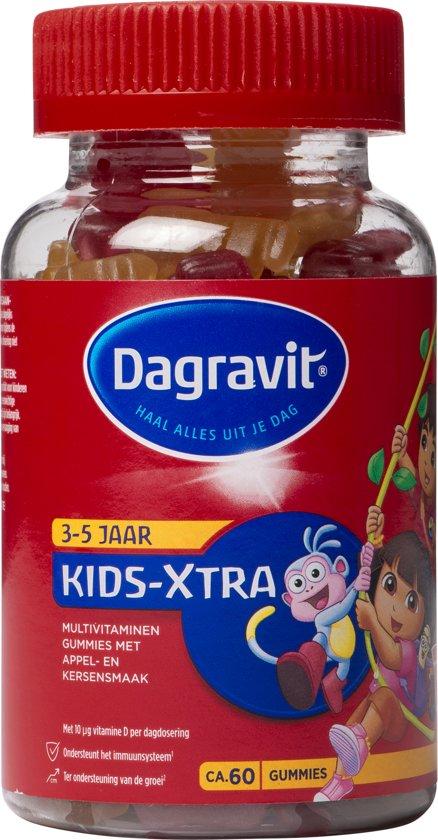 Dagravit Gummies Dora en Diego Kinder - 60 Gummies  - Multivitamine