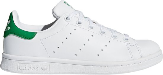 adidas Stan Smith J Sneakers Kinderen - Ftwr White/Ftwr White/Green