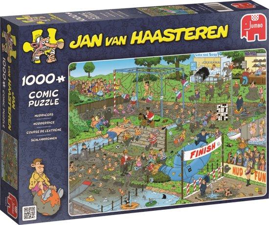Jan van Haasteren Modderrace - Puzzel 1000 stukjes