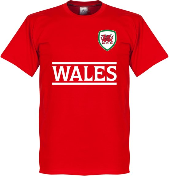 Wales Team T-Shirt - Rood - S