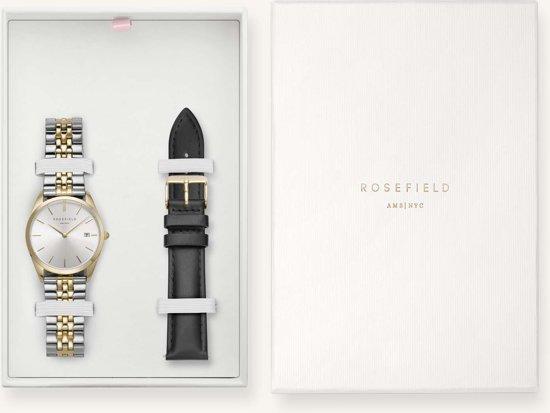 Rosefield The Ace Gift Set Dames Horloge - Goud Silver + Ømm - ASGBG-X239