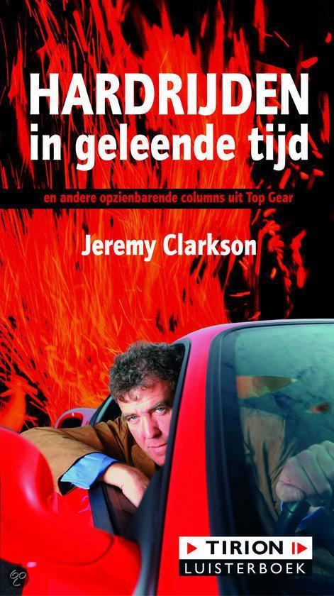 Cover van het boek 'Hardrijden in geleende tijd luisterboek'