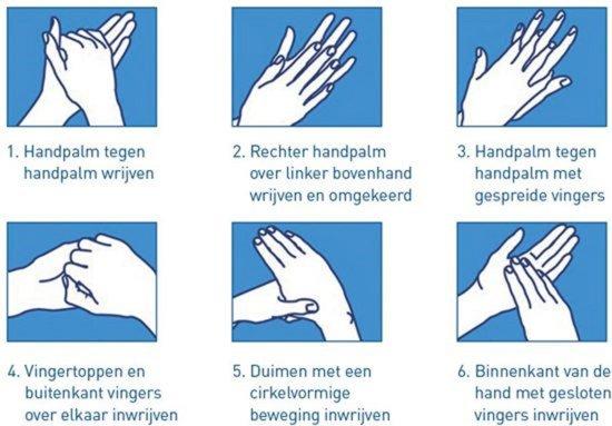 Handreiningsmiddel - Desinfectie 1 x 1000ml | Handalcohol - Desinfecterende Handgel - Desinfectie Alcohol 70%
