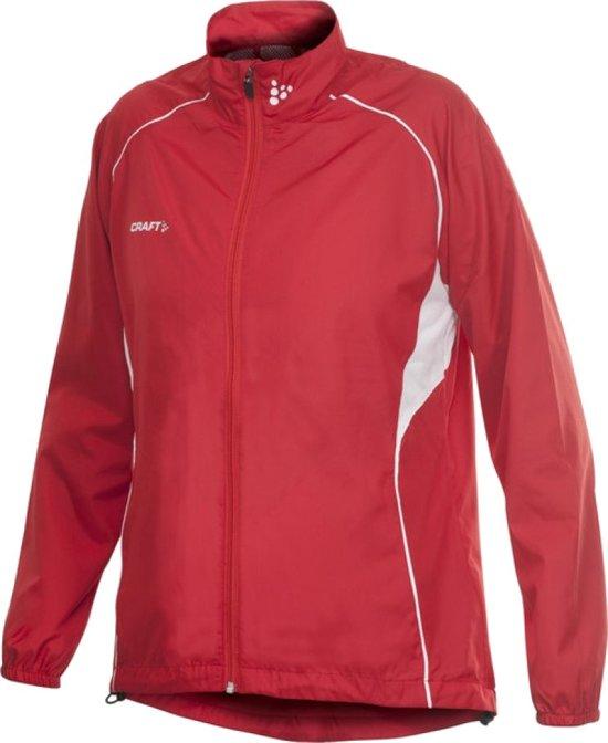 Craft T&F Wind Jacket Women bright red xxl
