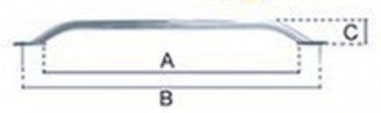 Railing RVS (532 X 457 X 67 mm) (OCEMA02218)
