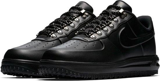Nike Lunar Force 1 Duckboot Low  Sneakers - Maat 42.5 - Mannen - zwart