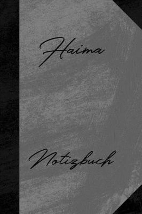 Haima Notizbuch