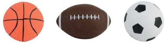 Toyrific 3-in-1 Sportballenset 12,5cm