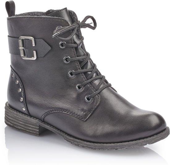 Rieker Zwarte Boots Dames 38
