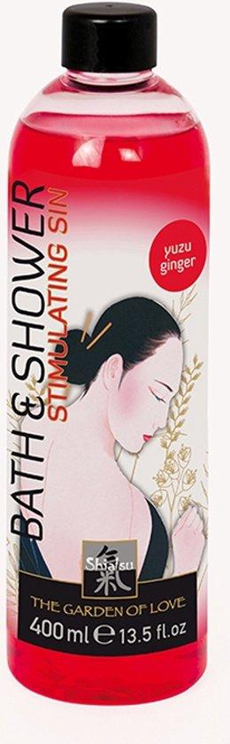 Shiatsu  Shiatsu bad en douche olie - Yuzu Ginger - 0 - -Badolie