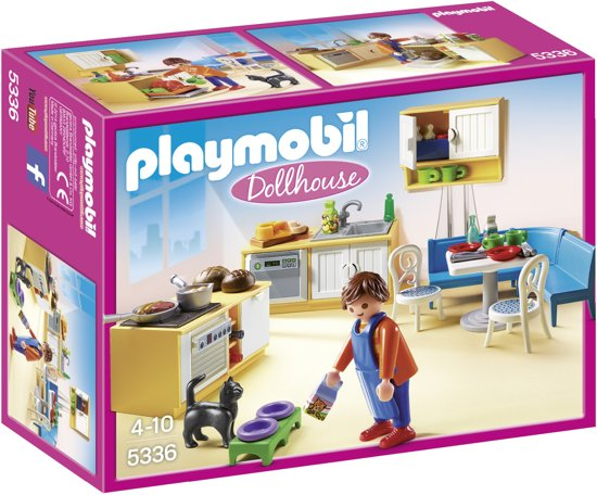 bol.com | PLAYMOBIL Woonkamer met houtkachel - 5308, PLAYMOBIL ...