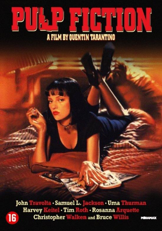 DVD cover van Pulp Fiction
