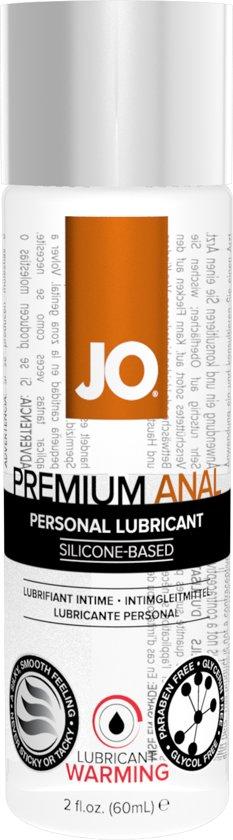 Verwarmende anaal glijmiddel