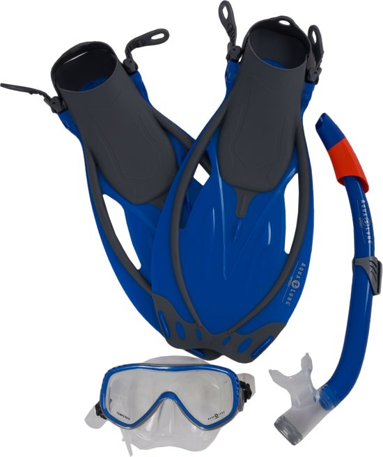 acd5293ec1aee4 bol.com | Aqua Lung Sport Yucatan Pro - Snorkelset - S/M (38-41) - Blauw