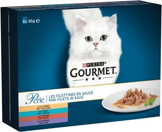 Gourmet Perle 40-Pack - Kattenvoer - 5 x (8 x 85) gr
