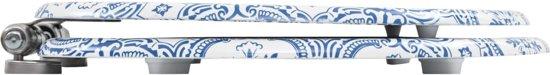 vidaXL Toiletbril met soft-close deksel MDF porselein print