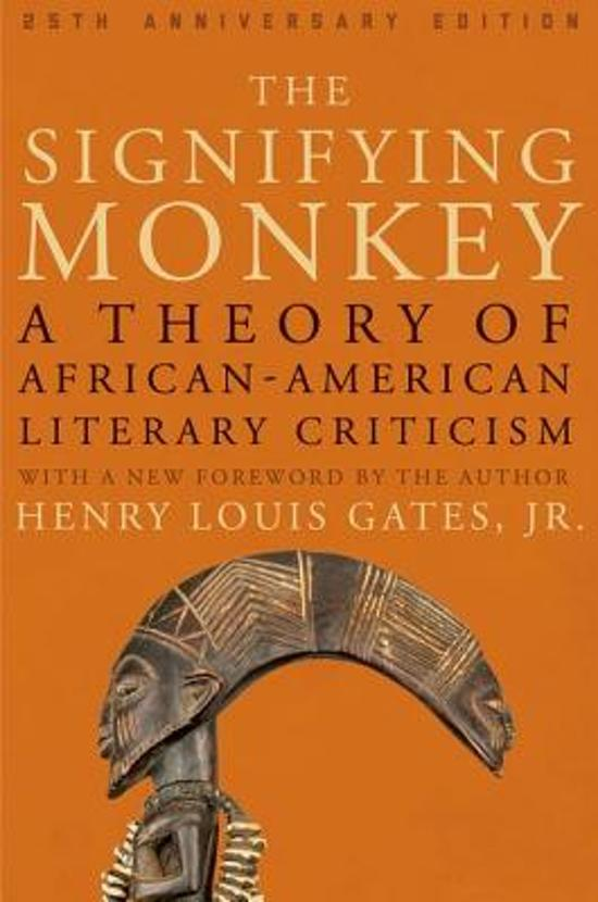 the practice of signifying in the book the blackness of blackness by henry louis gates