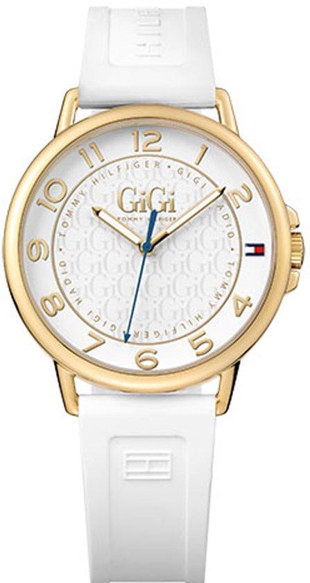Tommy Hilfiger TH1781724 Horloge - Rubber - Wit - 38 mm