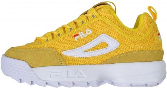 | FILA Meisjes sneaker geel Maat 40