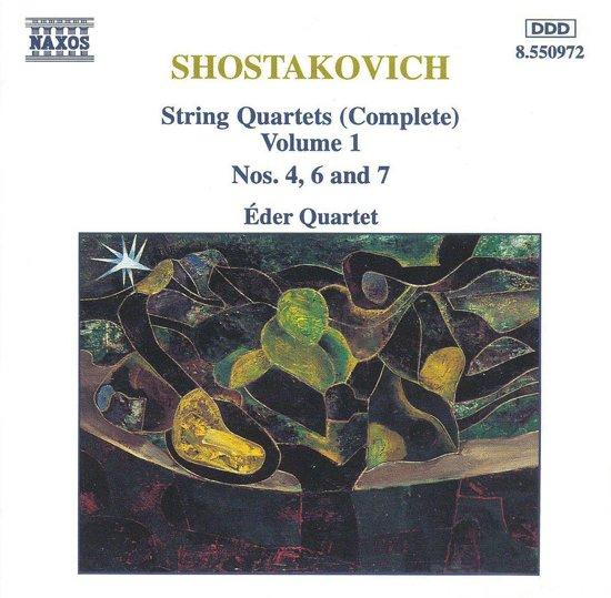 Shostakovich: String Quartets Vol 1 / eder Quartet