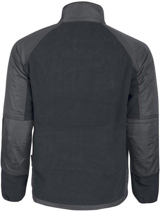black White Fleece Jacket 1245 3xl tq1wTwx