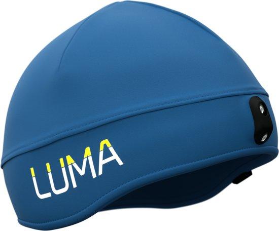 LUMA ACTIVE LED Light Cap S/M Blauw