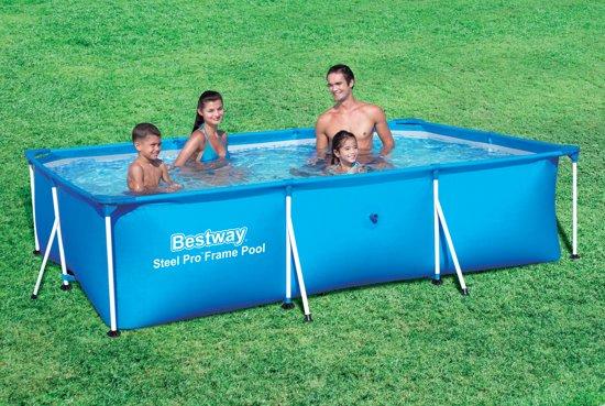 Bestway Steel Pro Frame Pool 300x201x66 cm - Zwembad