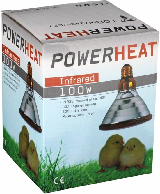 Warmtelampen PAR 175 watt
