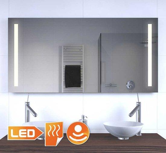 bol.com | Badkamer LED spiegel met verwarming en sensor 120x60 cm