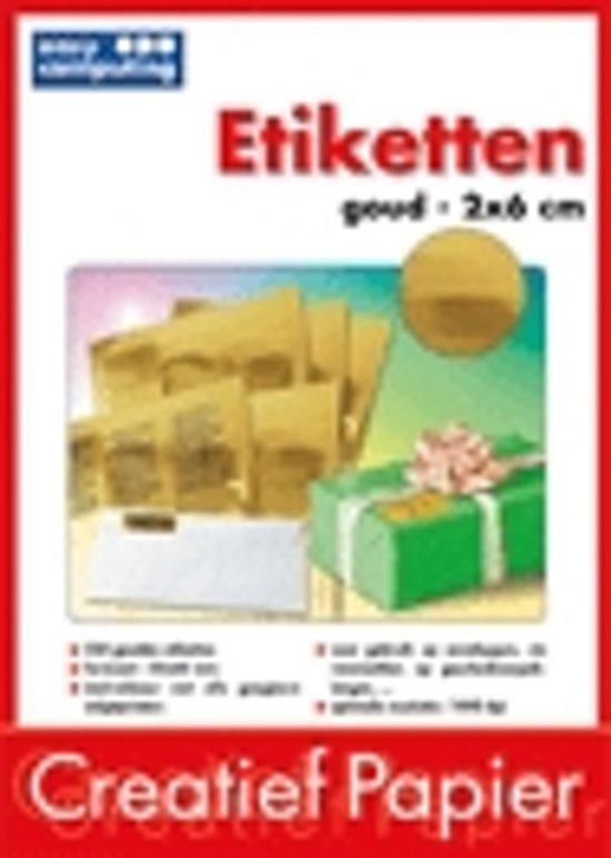 Easy Computing Etiketten - Goud