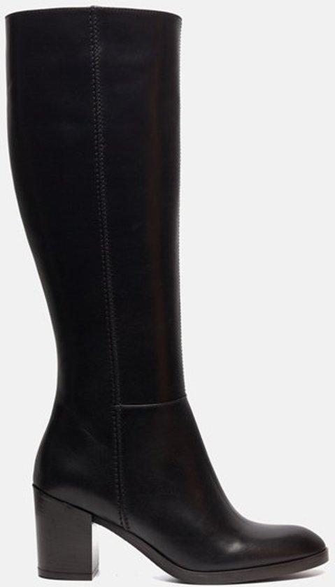 dames laarzen zwart leer